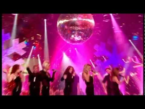 Girls Aloud - Something Kinda Ooooh (Live @ TOTP's Xmas 25/12/2006)