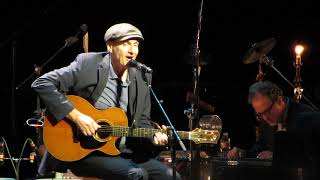 "James Taylor sings ""River"" at the Joni Mitchell 75th Birthday Celebration 11-7-18"