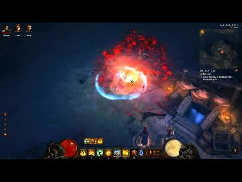 Diablo 3 - Monk Tank (Dodge) - Act 2 Inferno Farming Guide & Solo Belial - Pre 1.0.3