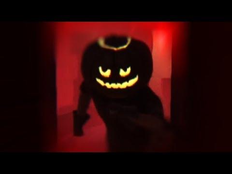 RUNNING FROM THE NIGHTMARE | Hello Neighbor Pumpkin Neighbor