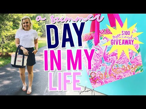SUMMER DAY IN MY LIFE VLOG #4: NEW Giveaway, Father's Day & Shopping w/ Haul || Kellyprepster