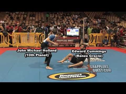 FAST Submission - Edward Cummings (Renzo Gracie) vs John Holland (Eddie Bravo) at Grapplers Quest Image 1