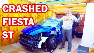I bought a crashed Fiesta ST 180. COPART UK