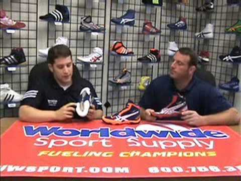 ASICS Cael V3.0 Wrestling Shoe Product Review by wwsport.com Video