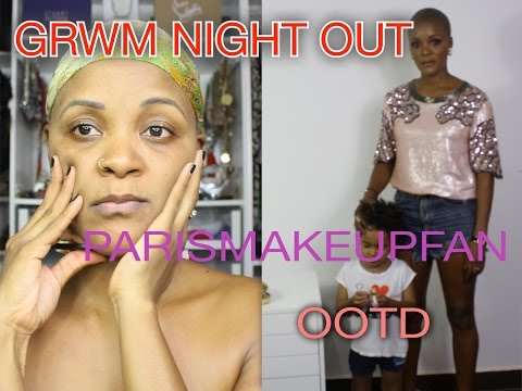 GRWM NIGHTOUT / OUT FEET & MAKEUP COMPLET