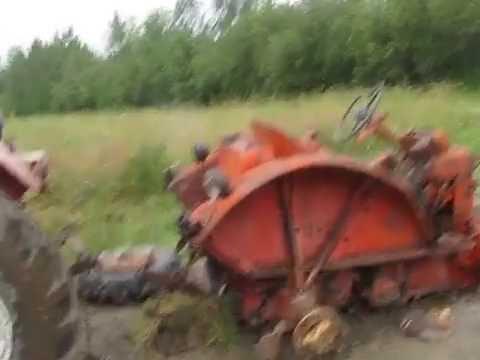 Belarus 520 Towing Parts Tractor.