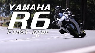 Yamaha R6 test ride review