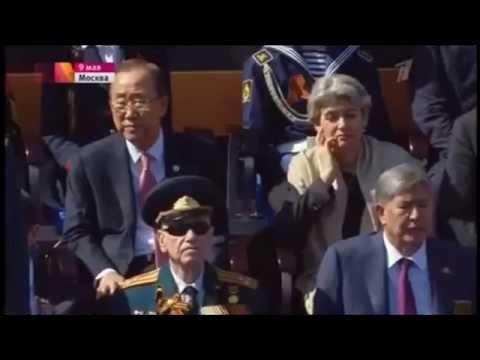 Реакция запада о Параде Победы 9 мая 2015 г.