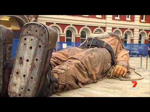 AMAZING! The Giants (Perth, Feb 2015) - FULL News coverage from Day 1