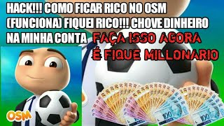 """HACK!?! COMO CONSEGUIR DINHEIRO """"INFINITO"""" NO OSM (FUNCIONA) FIQUEI RICO!!!"""