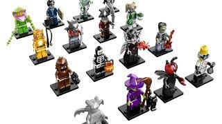 мультик лего//монстры лего//играем в лего//LEGO//мини фигурки лего