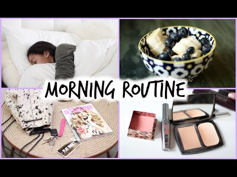 Morning Routine for School Fall 2014