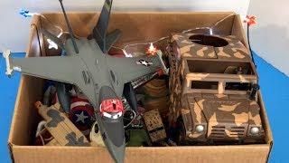 Box of Toys 🛡 Box Full of Toys 🔫 Military Toys 💥 Kids Toys 🚨 Toy Guns 🔫 Kids Fun ⚔️ Weapons