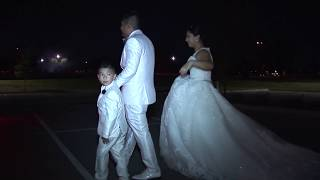 José and Crystal Wedding  Exiting with style