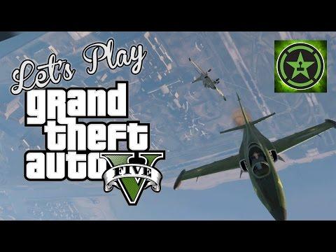 Let's Play - GTA V - Flight Schooled