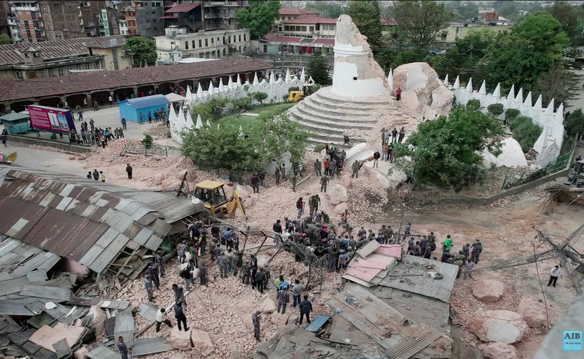 Real Nepal Earthquake Videos Nepal Earthquake Cctv Real