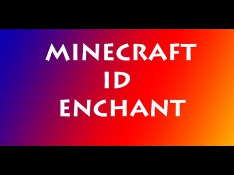 Minecraft ID enchant [ITA]
