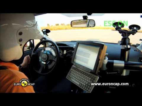Euro NCAP | Subaru XV | 2012 | Электронный контроль устойчивости