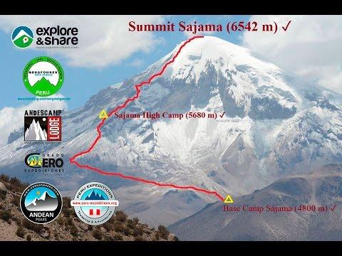 Volcan Sajama - Highest Mountain In Bolivia - 31.10. - 02.11.2014