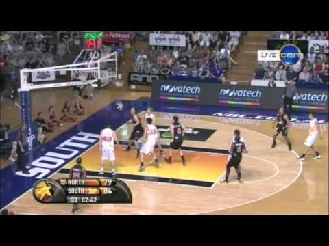 2012-13 NBL All Star game highlights