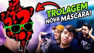 TROLAMOS A MÁSCARA DO RATO BORRACHUDO!!!