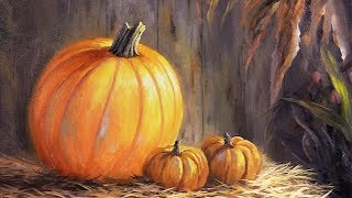 Pumpkin Still Life | Paint with Kevin®