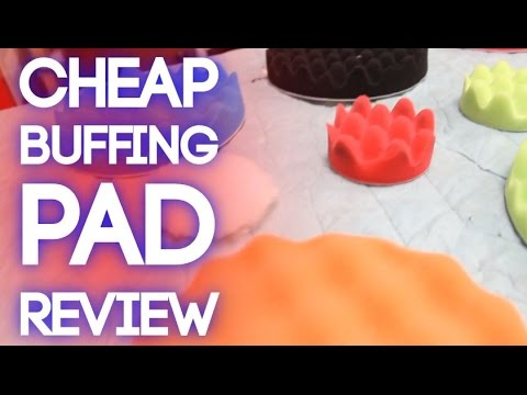 Review: Ebay Buffing / Polishing Pads