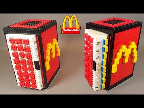 Как сделать Сейф-Холодильник с КНОПКАМИ из ЛЕГО !