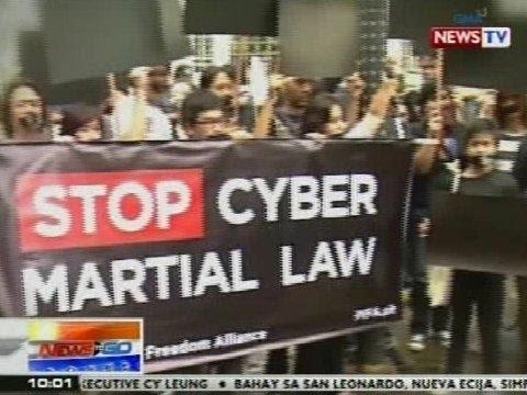 NTG: #Flashback: Oct. 3, 2012, itinakda ang pagpapatupad sa Cybercrime Prevention Act