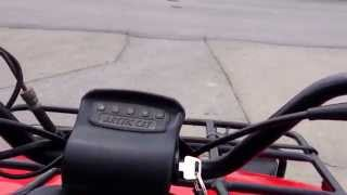 2001 Arctic Cat 250 review. (First Video)