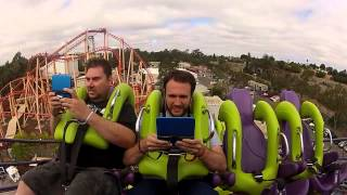 Giant Bomb vs. a Roller Coaster
