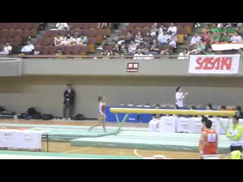 Lexie Priessman USA -  Japan Jr 2011 - Prelims