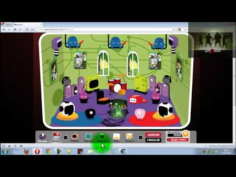 hack de creditos en cartoon network 2.5
