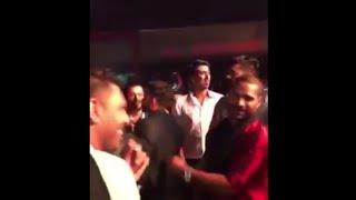 Virat Kohli, Yuvraj Singh and Shikhar Dhawan dancing at Harbhajan Singh's reception