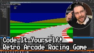 Code-It-Yourself! Retro Arcade Racing Game - Programming from Scratch (Quick and Simple C++)