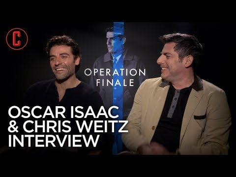Oscar Isaac And Chris Weitz On Operation Finale And Tackling Ben Kingsley Into A Ditch
