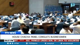 House ChaCha panel consults businessmen