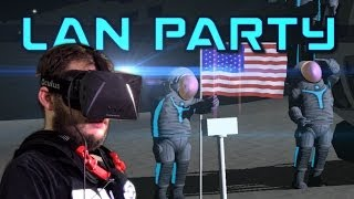 Virtual Reality Moon Party - Control VR & Oculus