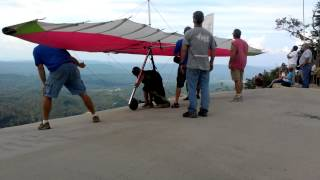 12 year old Ethan hang gliding!