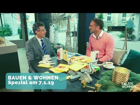 Trend Mini Haus/Tiny House, Spindeltreppe, Bautipps - Spezial mit Johannes Schwörer am 7.1.2019