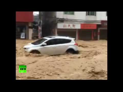 RAW: Devastating typhoon Nepartak wreaks havoc in Eastern China