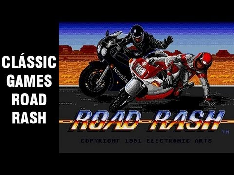 Clássic Games Road Rash + Feliz Natal