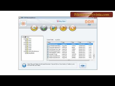 free file recovery vista software how to recover files data restore NTFS www.filerecoveryvista.com