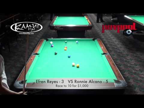 FINAL MATCH - Efren Reyes Vs. Ronnie Alcano  -