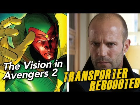 Star Wars is filming, Avengers 2 adds The Vision, Transporter gets REBOOTED!