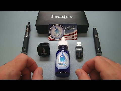 Halo Cigs: Triton Starter Kit Review