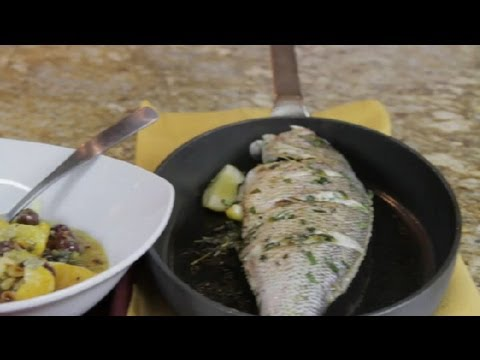 how to pan fry fish with skin