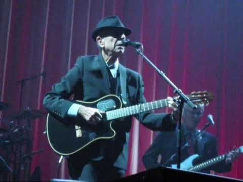 Leonard Cohen, DARKNESS, New song, Nashville TPAC, Nov 5, 2009
