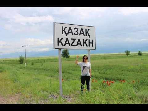 Kazakhstan: Beautiful View From Almaty to Taraz - DiDi's Adventures Episode 34