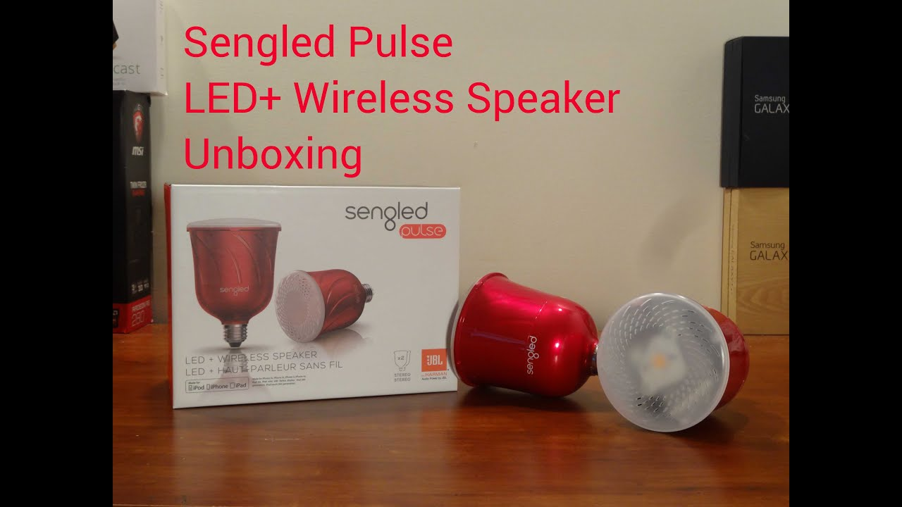 Sengled Pulse Unboxing Youtube